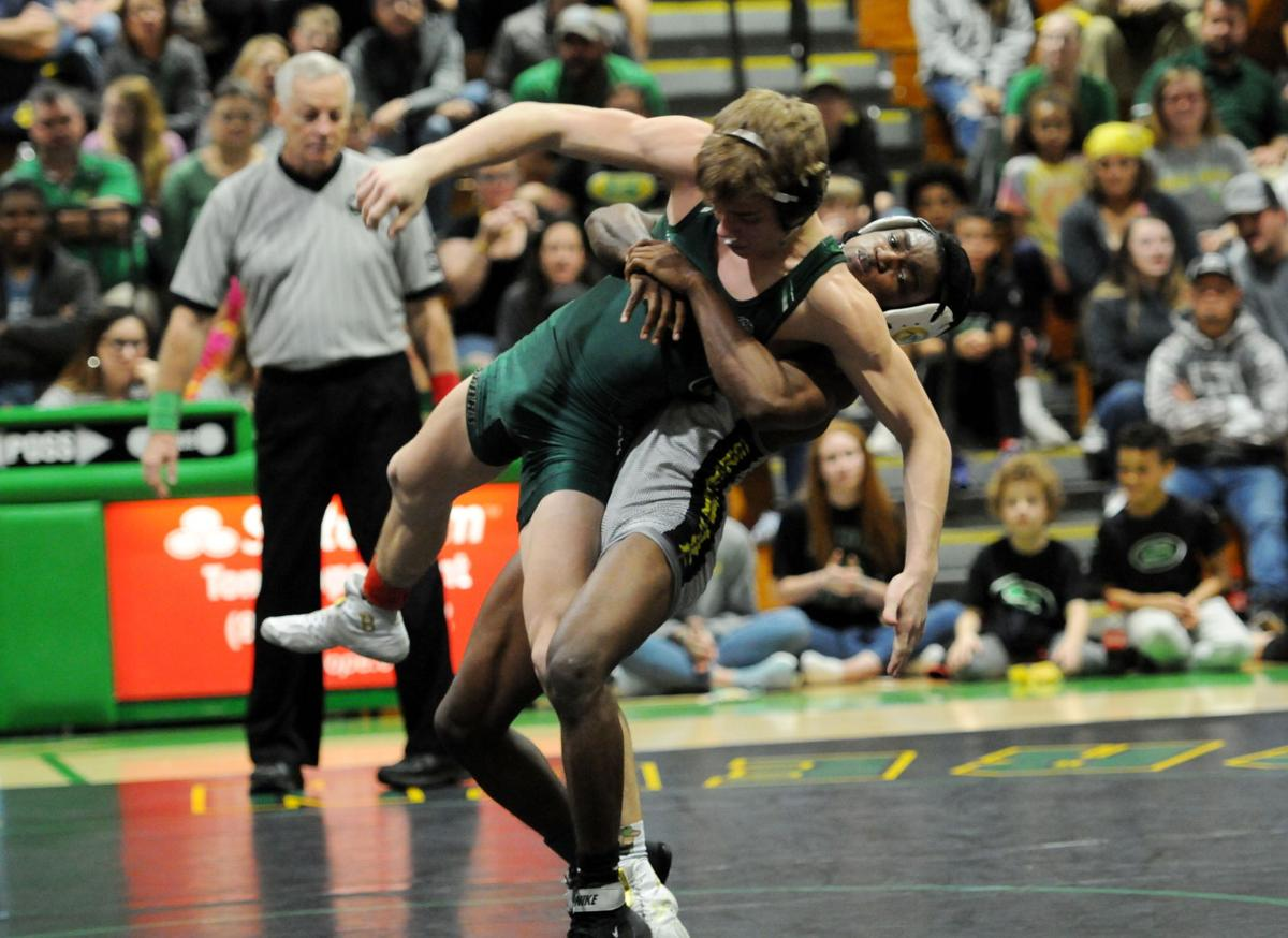 Green Wave wrestlers top River Bluff