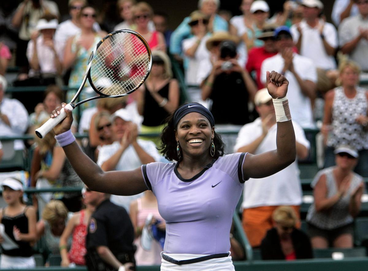 Serena Williams wins Family Circle Cup