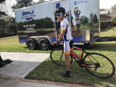 Scotty Parker on bike