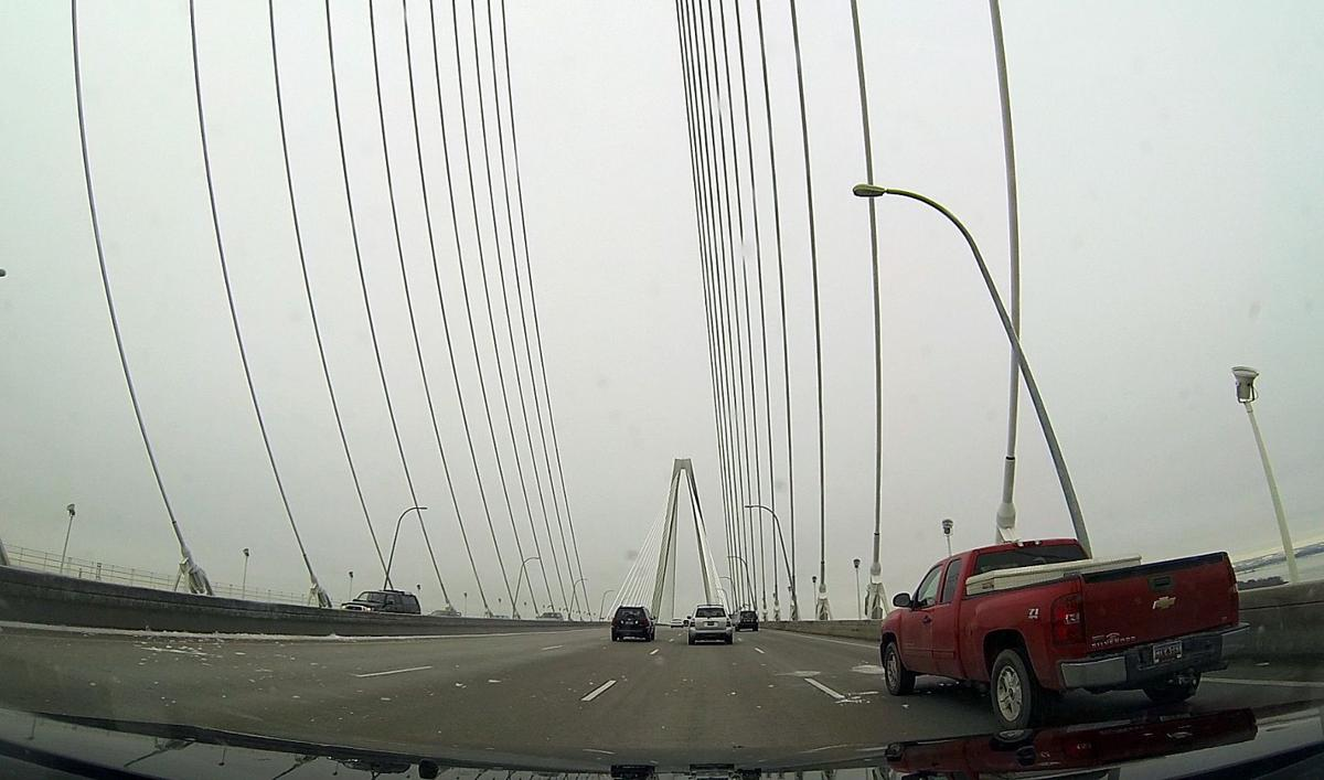 Prayers, pleas as ice fell from Ravenel Scary commute Friday