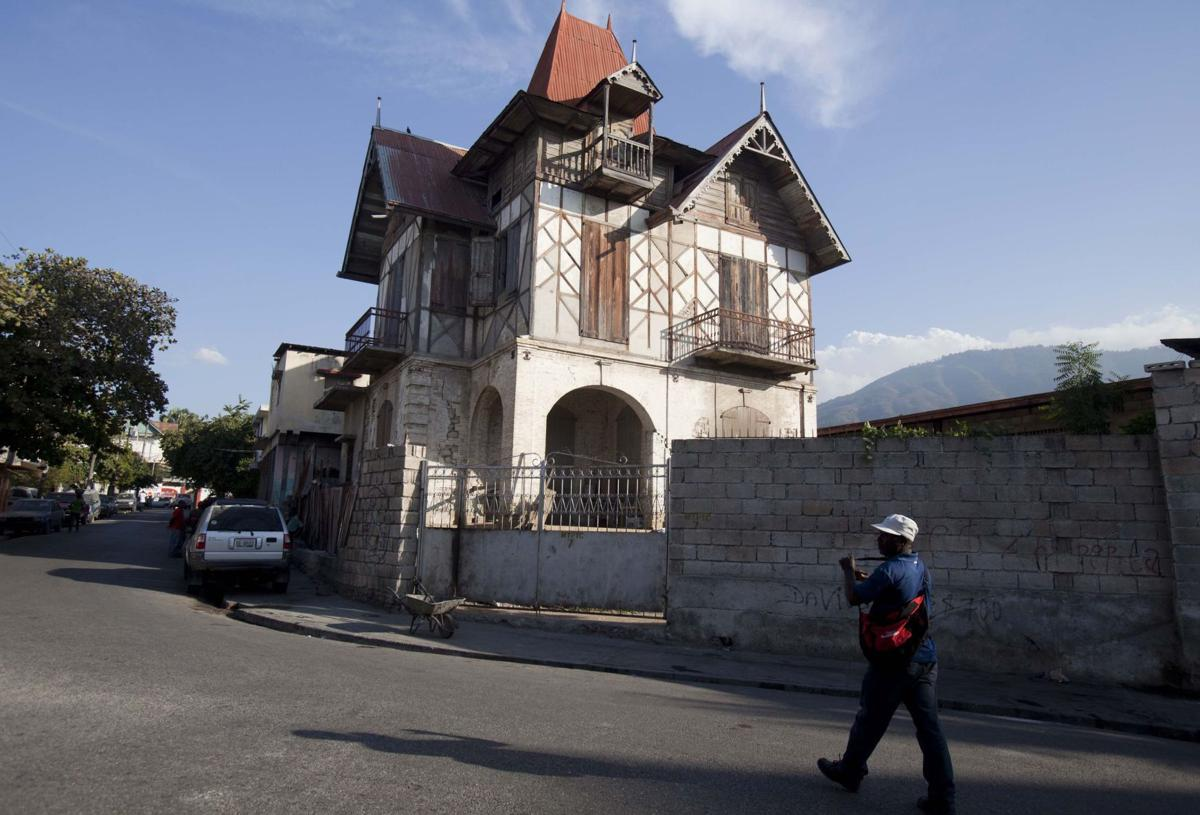 Preservationists fight to save Haiti's gingerbread homes