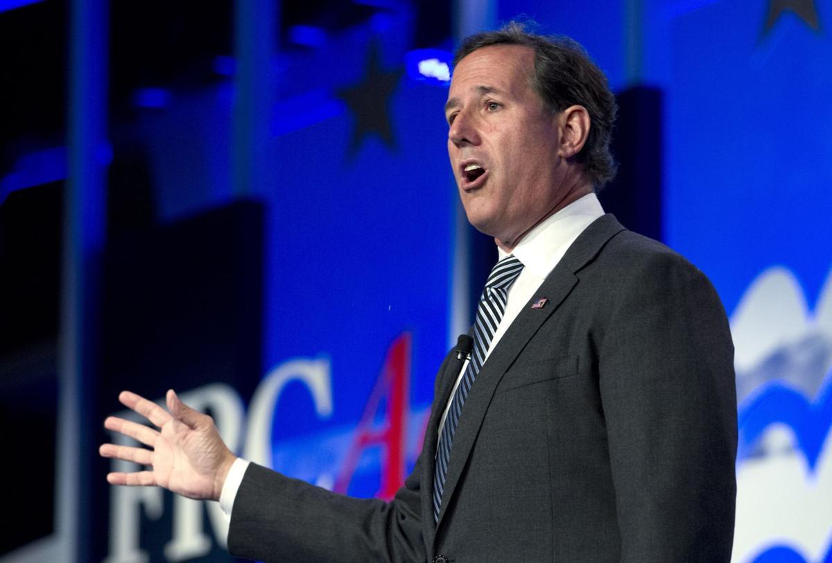 Santorum returns to South Carolina for capitol prayer rally
