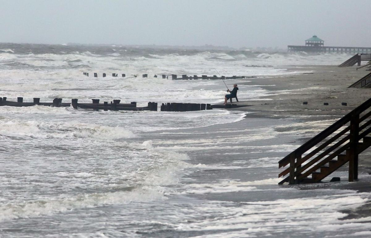 Hermine sweeps over Lowcountry