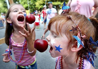 Fourth on the first Summerville celebrates early with Red, White and Blue on Green