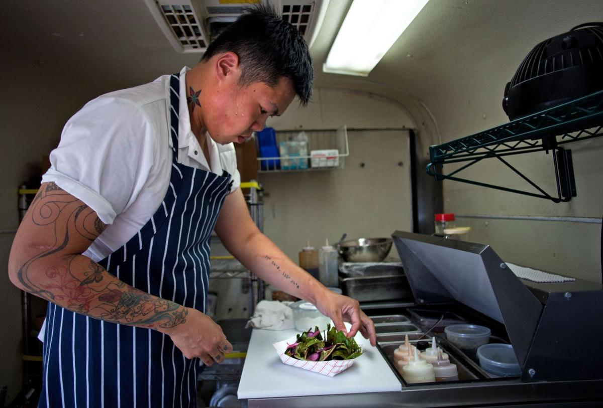 Short Grain Food Truck Diners take on a beautiful, delicious journey