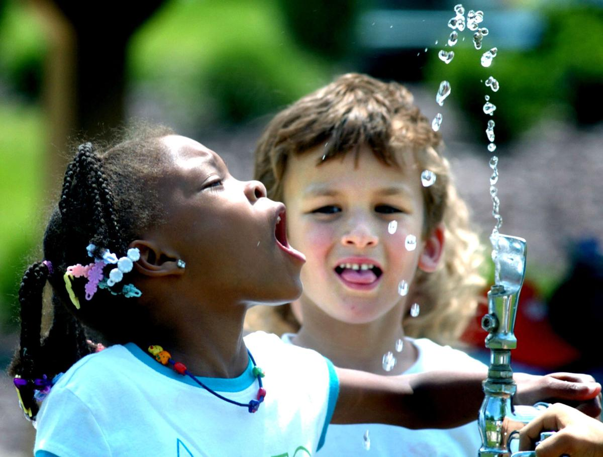 Restore free flow of water fountains