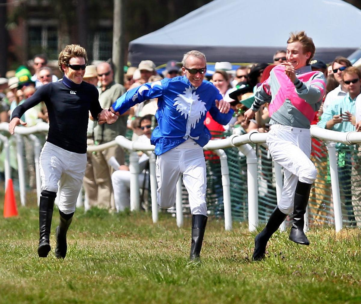 Horsin' around Good times break into a full gallop at Charleston Trials on St. Patrick's Day