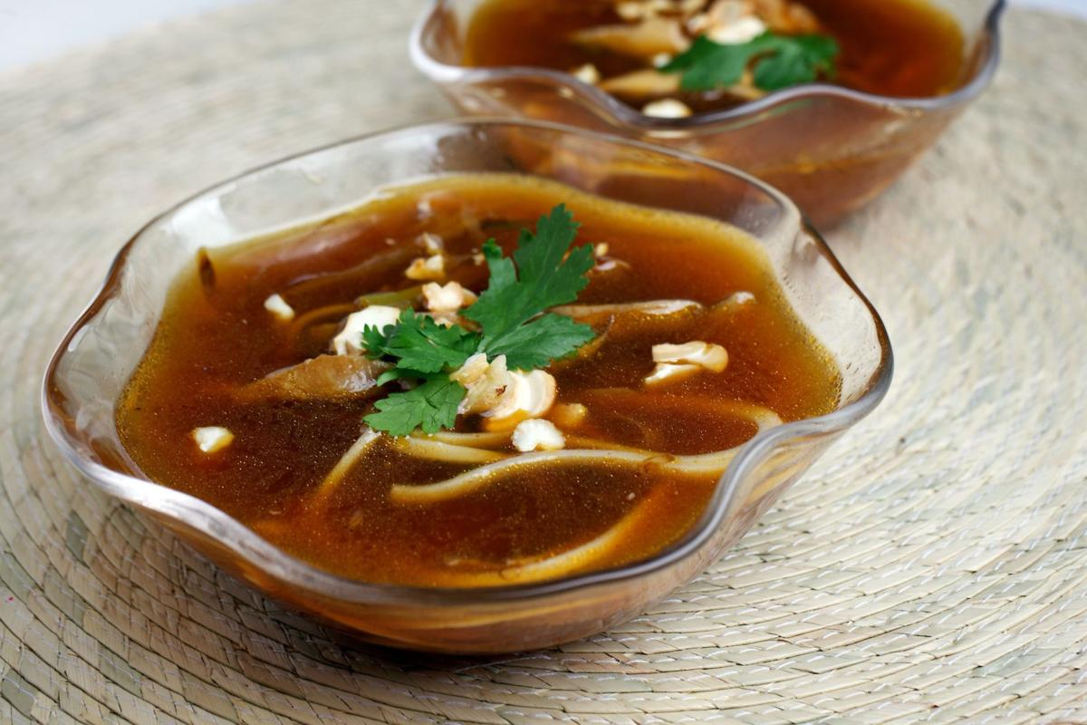 Soup perfect for spring