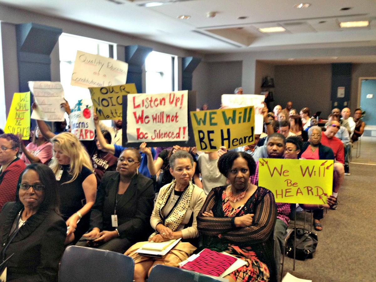 Parents, activists call for equity in Charleston County schools