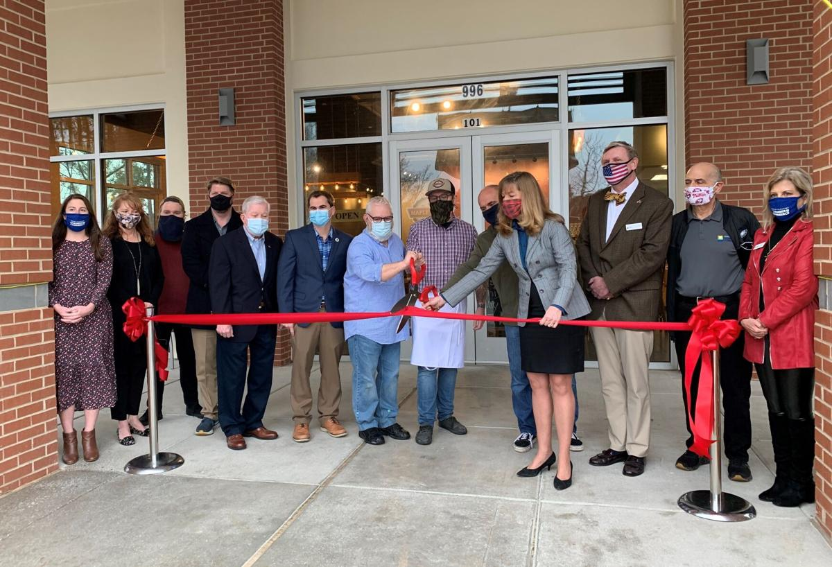 Maple Street Biscuit Ribbon Cutting