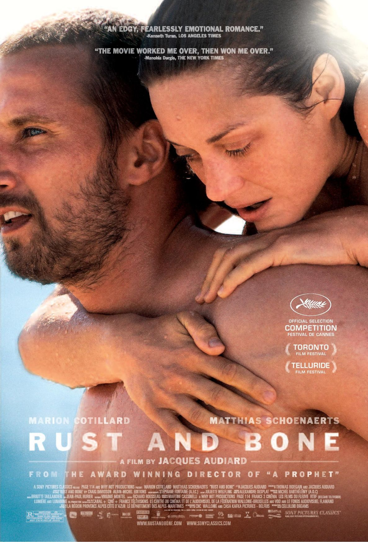 'Rust and Bone' defines romance in its own way