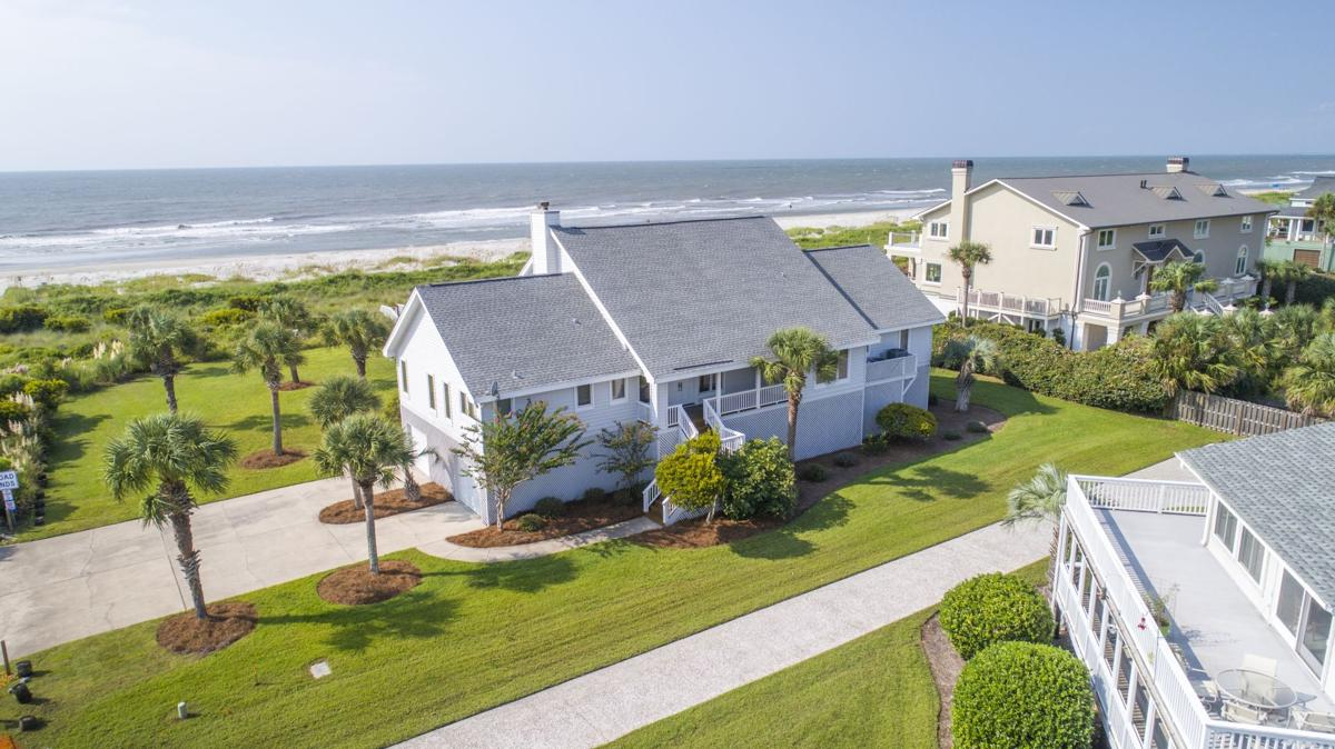 Isle of Palms House - Aerial View