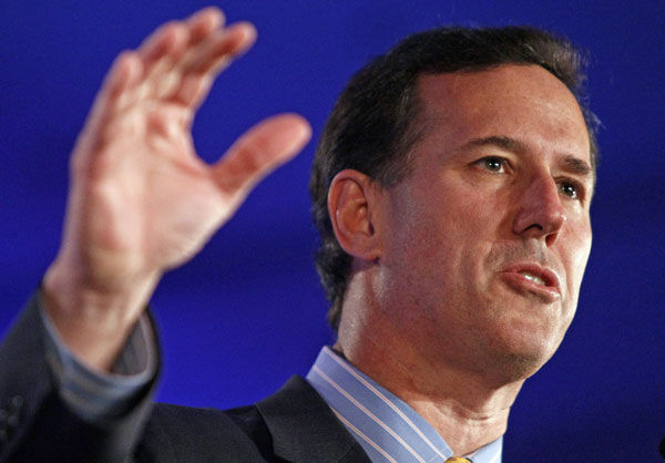 Rick Santorum finds some momentum in Iowa