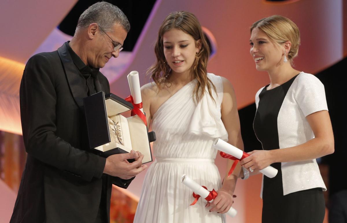 'Blue' wins Cannes' Palme d'Or