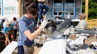 Blackbaud employee volunteering