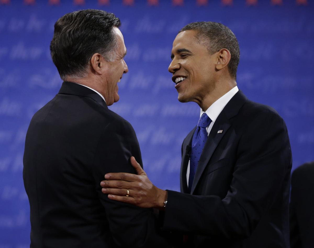 Final debate: Challenging each other face to face
