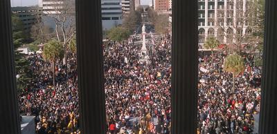 January 17, 2000 Columbia confederate flag protest
