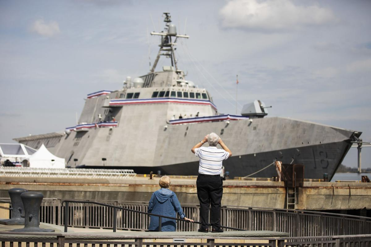 USS Charleston: Navy's newest ship formally enters the fleet in
