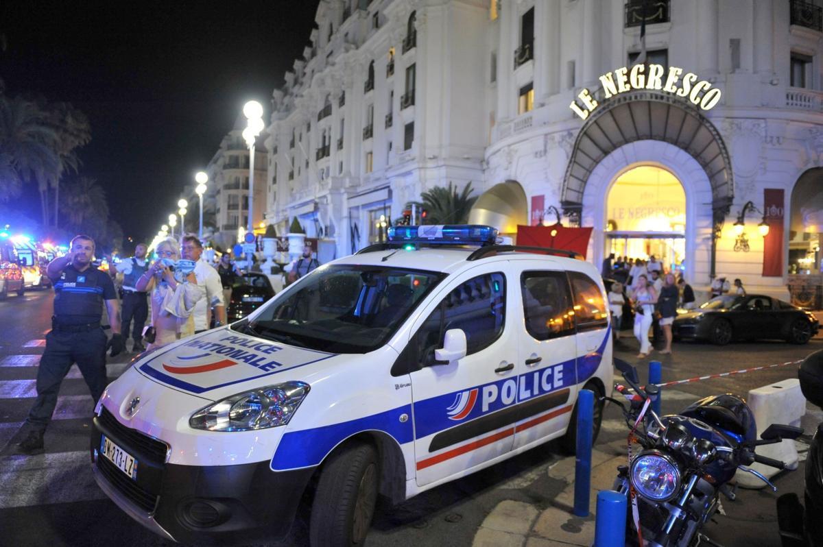 Truck slams into revelers in Nice