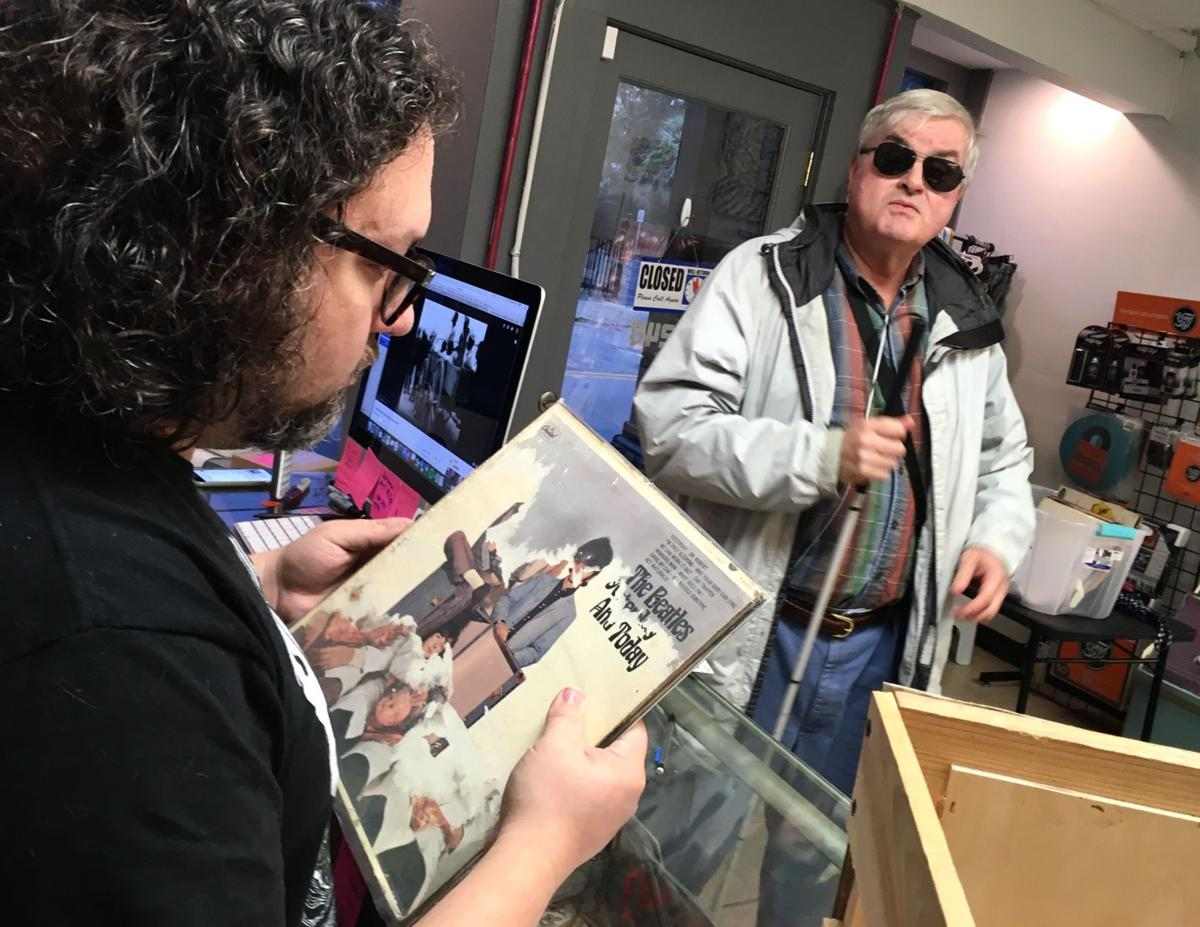 Local Blind Man Has Copy Of Rare Beatles Butcher Cover Album
