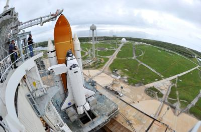 Atlantis, astronauts ready; weather maybe not
