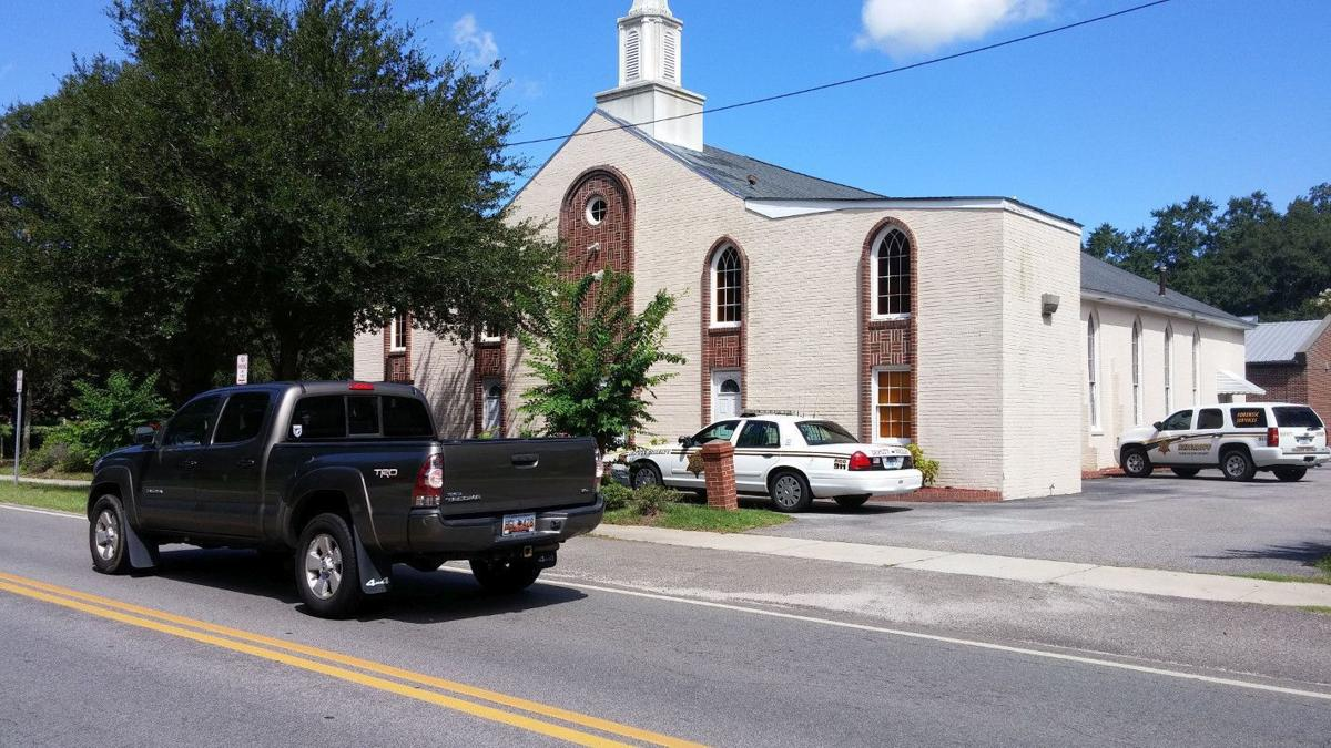 Bullet hole found in door of church on James Island Police investigate bullet holes at Bethel AME Church Bullets hit 2nd black church