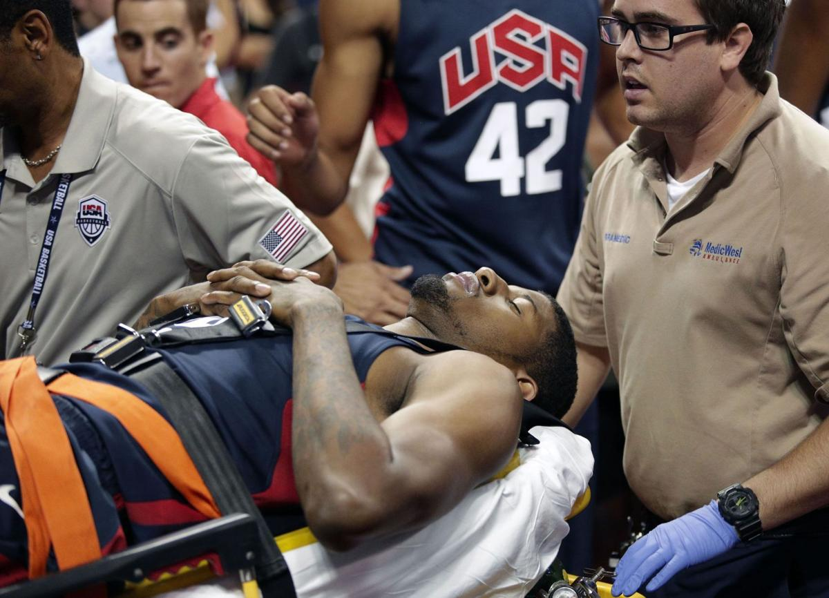 George injury illustrates risk of international basketball
