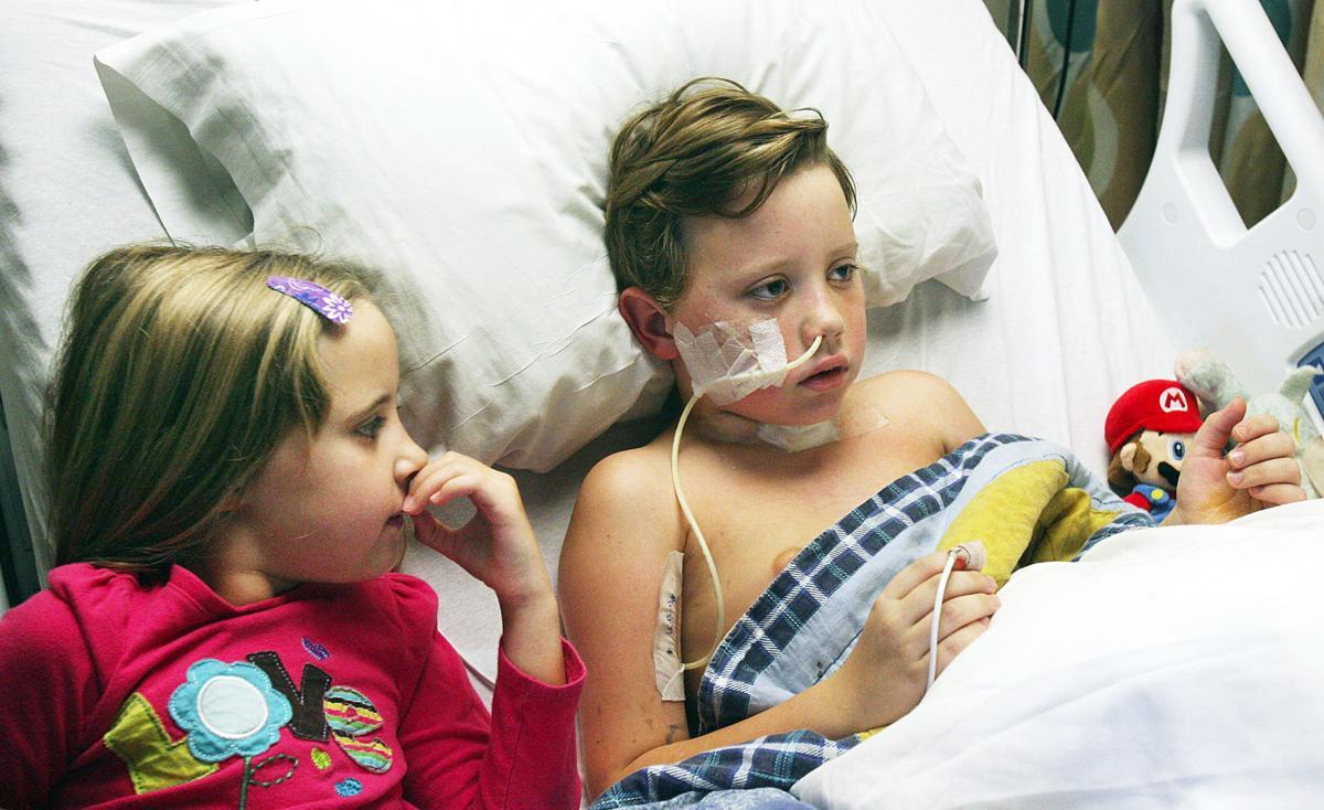 Snake Bite Victim Improving