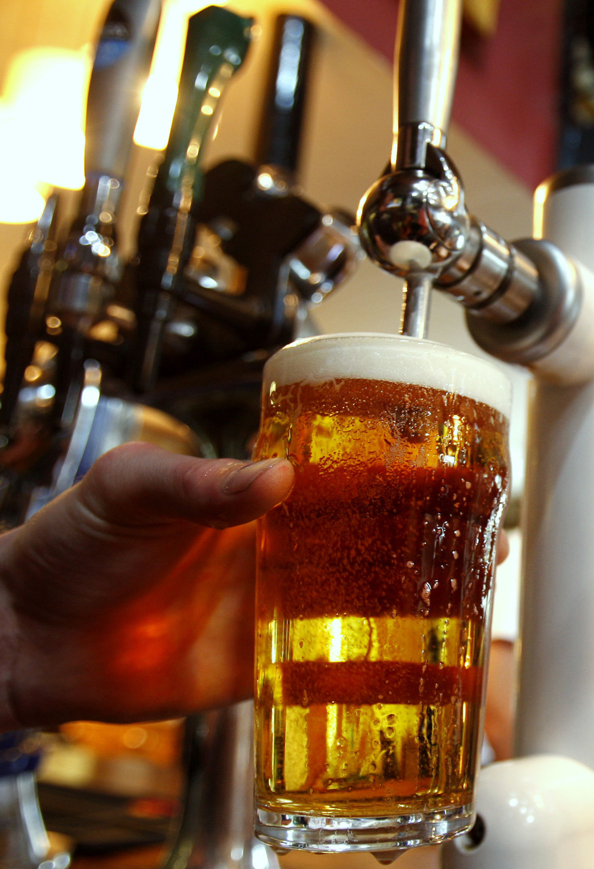 Brew fans raise pint to victory