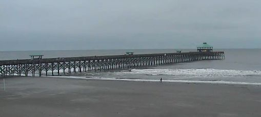 Cooler today in Charleston with a slight chance of rain