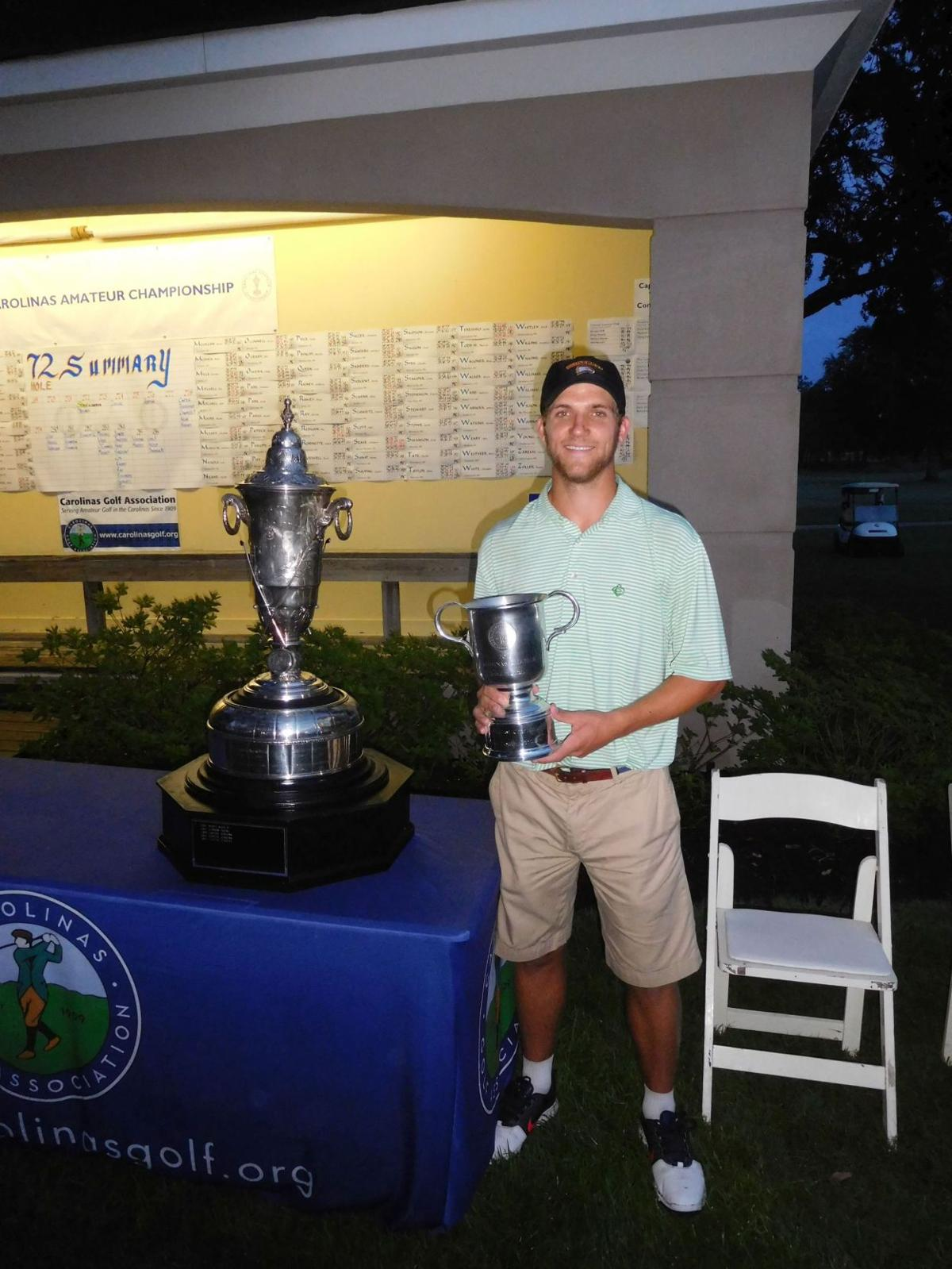 Mount Pleasant's Sease survives 4-hole playoff to win Carolinas Amateur