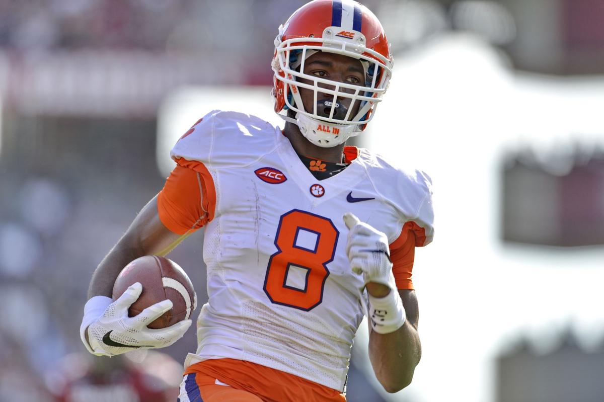 Clemson's Williams in, Cain out at practice