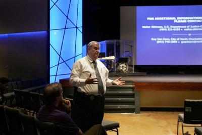 Justice Department, North Charleston police hold second feedback session on citizens advisory board