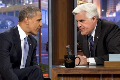 Obama discusses harbors' deepening Pres. appears on Leno, plugs funding for Gulf seaports