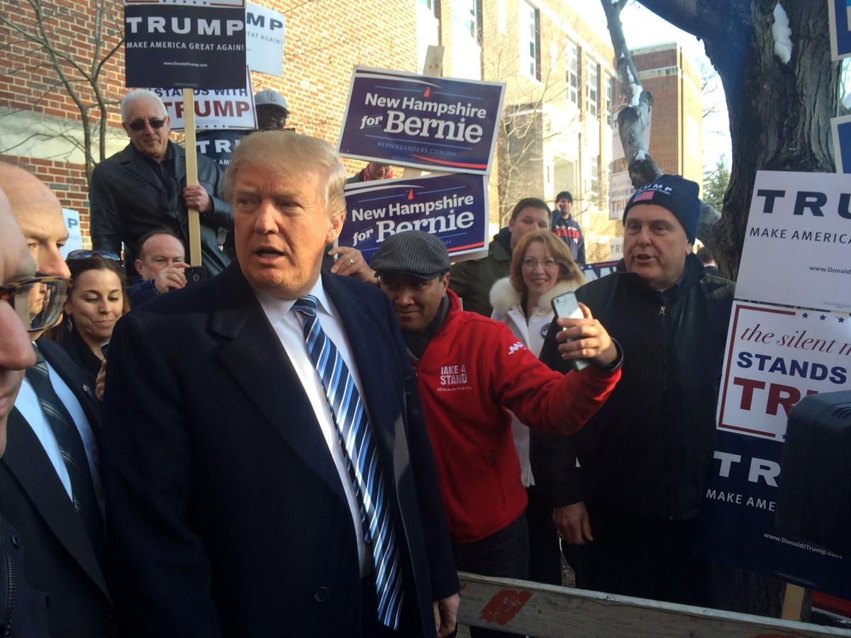 Trump, Sanders look to emerge from New Hampshire with wins