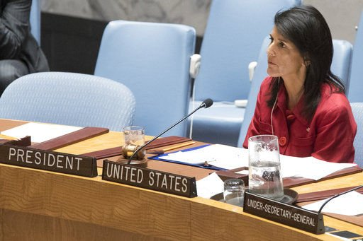 US Ambassador Haley Loses Two Key Aides at United Nations