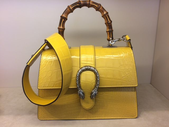 b1047614 $24,000 Gucci purse stolen. A $24,000 purse made of crocodile skin and  bamboo ...