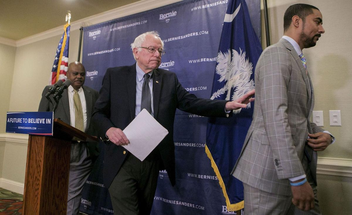 Sanders says he's fighting hard in tough S.C. race Some think Clinton rival has 'conceded state' as he looks to Super Tuesday
