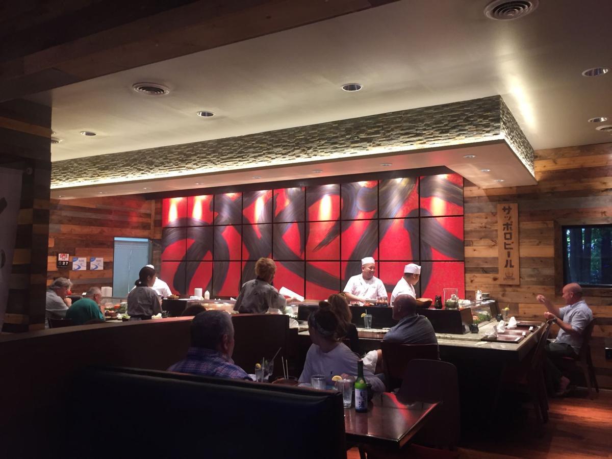 Miyabi's sushi bar