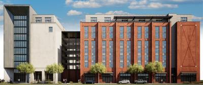 Atlantic on Romney Apartments rendering
