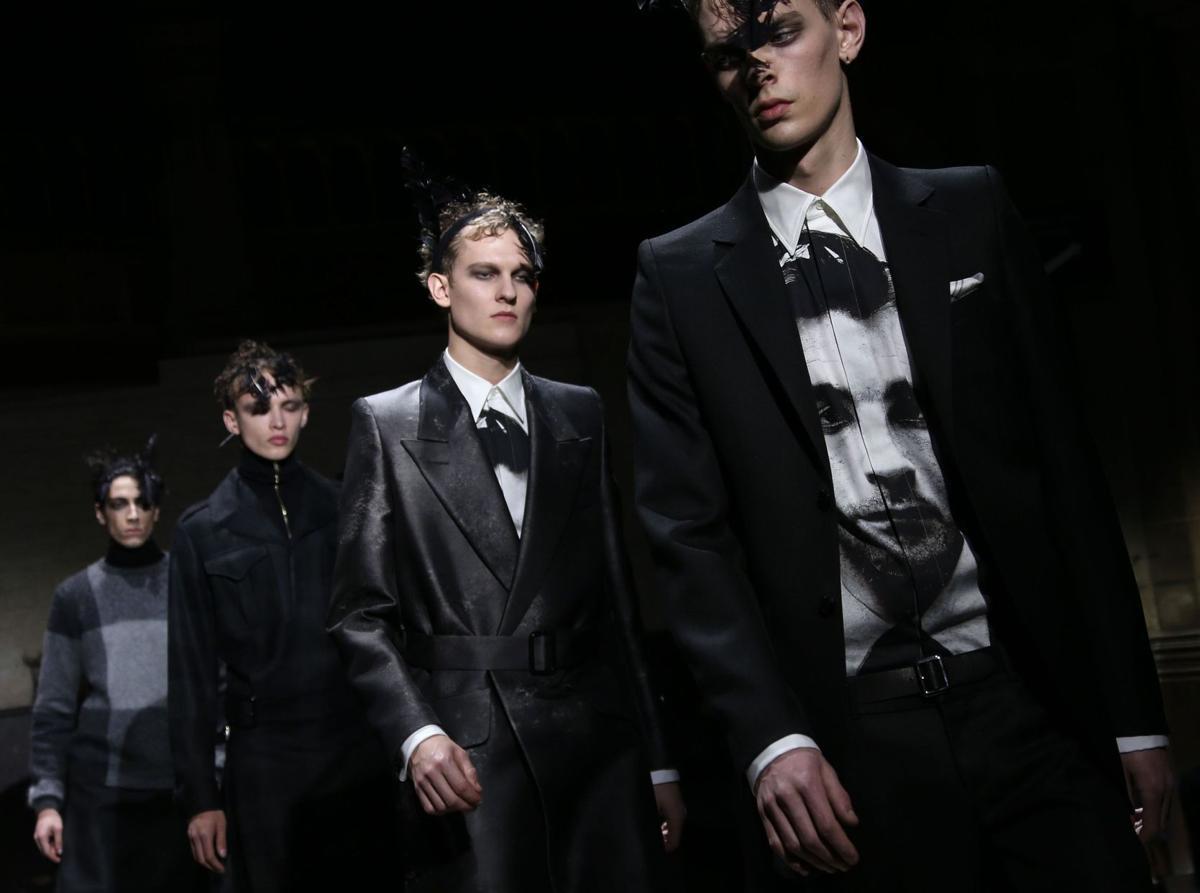 McQueen show dark, brooding