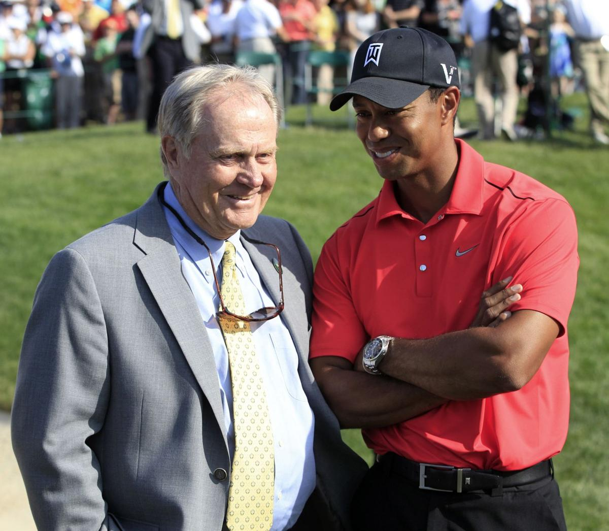 Nicklaus talks about Tiger during Charleston visit