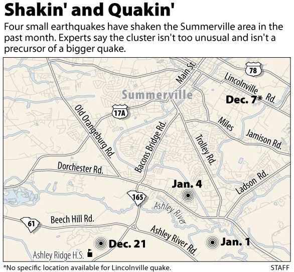 4th little quake in a month strikes