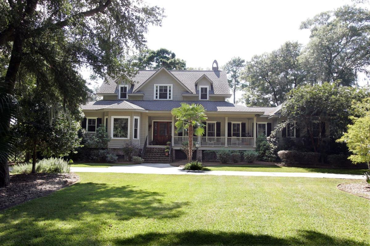 2133 Bailey Island Drive — Pristine marsh-side home on 8.7 acres in Edisto Island neighborhood boasts natural theme, open layout