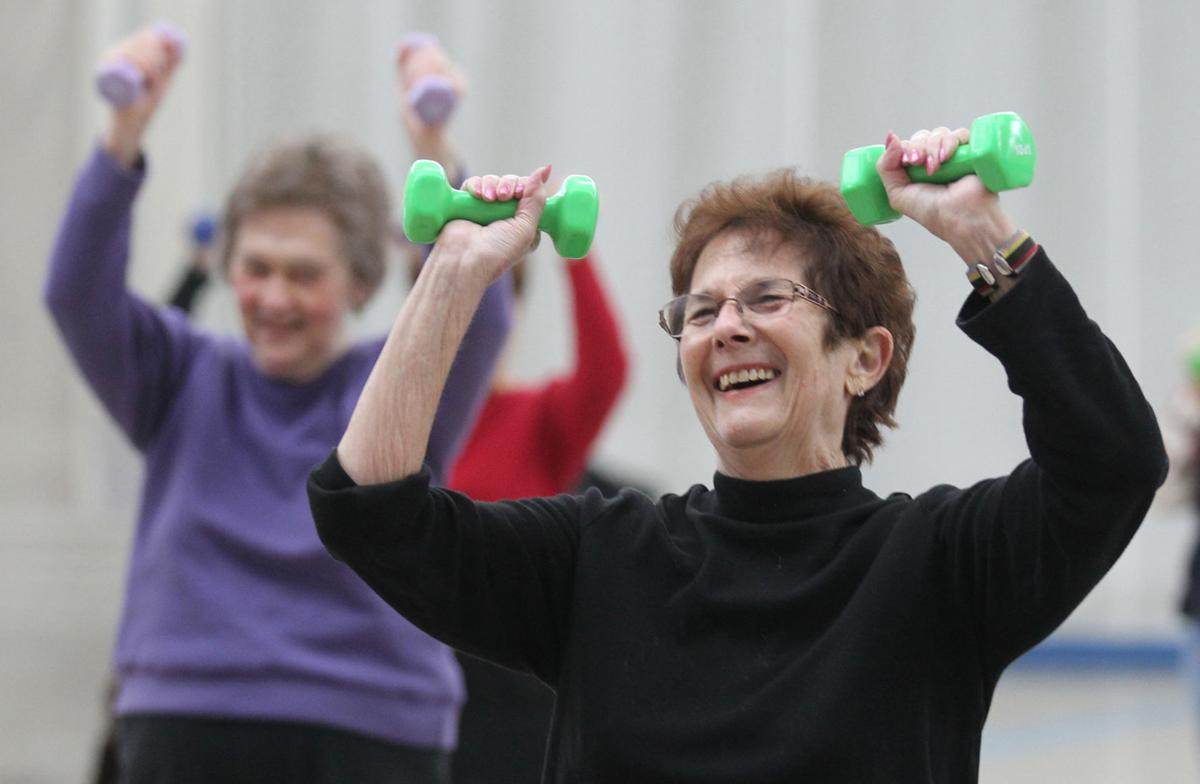 Seniors shape up SilverSneakers program helps older Lowcountry participants reap benefits of regular exercise