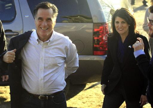 Three polls put Romney at top of SC GOP primary field