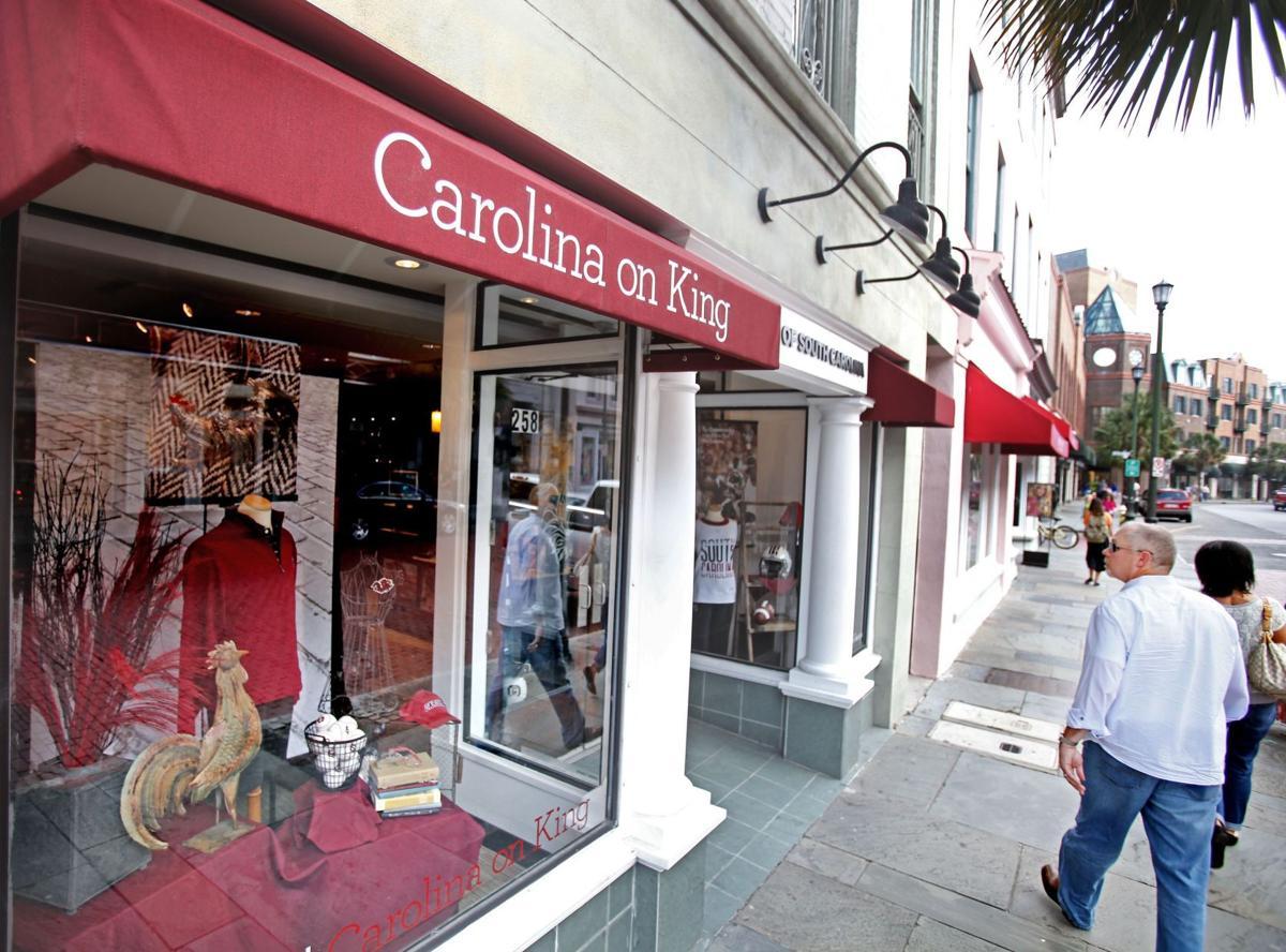Carolina on King leaving downtown Charleston