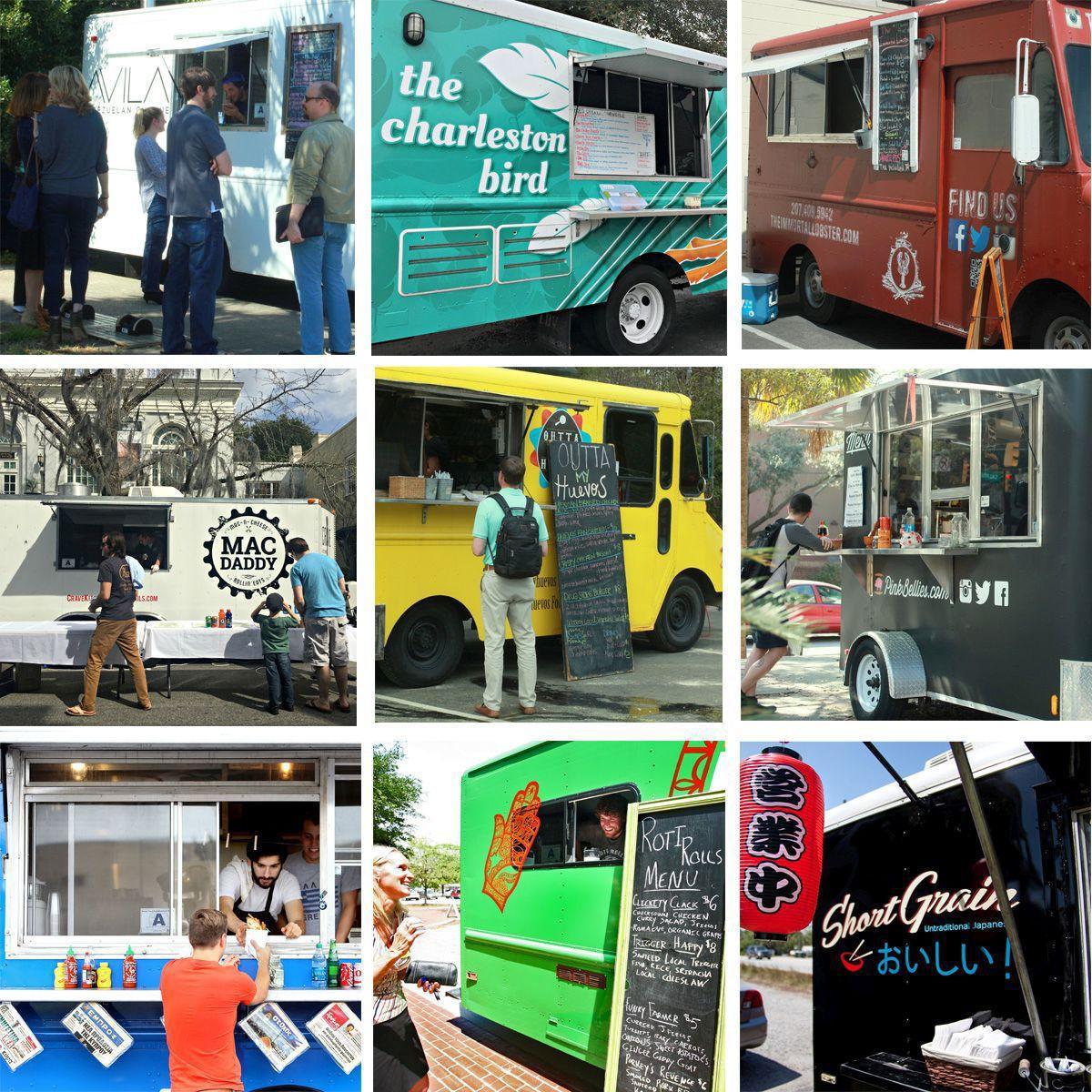 Nine food trucks to try