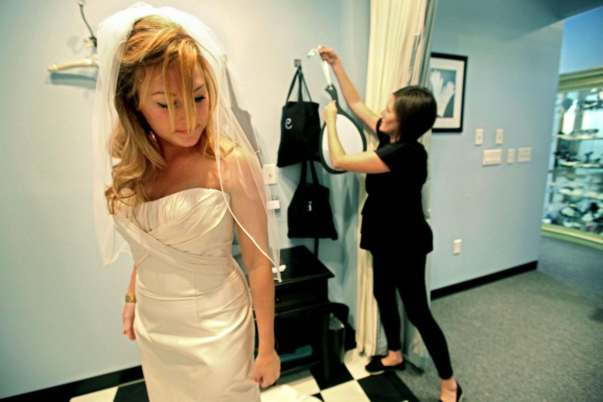Finding the perfect gown Store owners offer stress-reducing tips for choosing a wedding dress