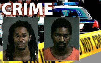 Charleston police seek two men in separate Line Street crimes